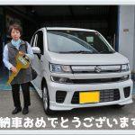 スズキ ワゴンR HIBRID FZ ご納車おめでとうございます。兵庫県 新車市場 神崎市川店 カーリース