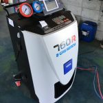 夏になる前にいかがですか?エアコンガスクリーニング TEXA 760R FIAT500 フィアット500
