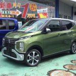 新車展示車情報! ミツビシ ekクロス 月々¥11,000~ カーリース