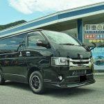トヨタ ハイエースバン ダークプライム2 納車させて頂きました。 カスタム多数 カーリース 新車市場 神崎市川店