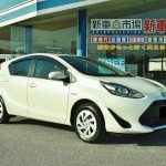 新車 トヨタ アクア ハイブリッドを納車させて頂きました。新車市場 神崎市川店