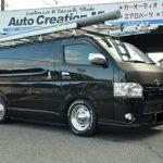 リースで購入のトヨタ ハイエースバンをカスタムしました。姫路市