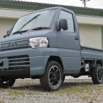 コンプリートカー ミニキャブトラック リフトアップカスタム納車を納車させて頂きました。神奈川県