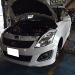 スイフトRSとCH-Rの車検&分解整備 ZC72S スズキ ZYX10 トヨタ