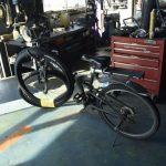自転車の修理 マウンテンバイクのタイヤ交換をしました。 市川町 ミシュランタイヤ