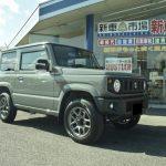 新車ジムニー(JB64W)を納車させて頂きました。姫路市 スズキ