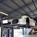 ポルシェ(996)911カレラ 車検整備で入庫 ドライブシャフト交換