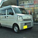 新車スズキ エブリーバン(DA17V)を納車させて頂きました。市川町 神崎郡